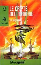 Fire*Wolf 2 LE CRIPTE DEL TERRORE librogame EL prima edizione