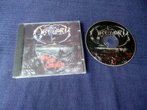 CD Obituary The End Complete R/C 1992 | Matrix / Runout: DURECO RC 9201 2 01$