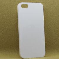 10 x 3D Sublimation Vacuum Oven White Blank Phone Plastic Cases iPhone 5C
