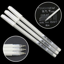 3 Pcs 0.8mm White Ink Color Photo Album Gel Pen Stationery Office Supplies Kits