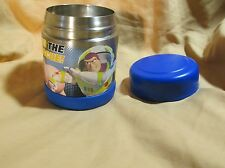 Disney Toy Story To The Rescue Metal & Plastic Thermos Funtainer 10 oz Food Jar