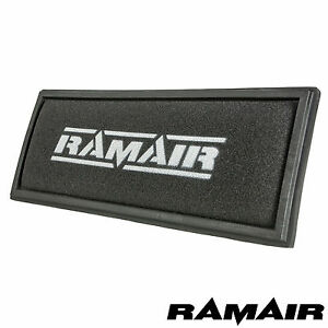 RamAir - Filtro de aire tipo panel de espuma - Para VW Golf mk5 mk6 TDI GTD TSI