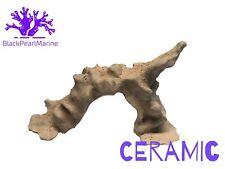 """Ceramic Nano Coral Reef Rock Arch Aquarium Decoration (9""""x 5"""")"""