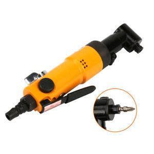 90 Degree Right Angle Air Screwdriver Reversible Type Pneumatic Tool 9000RPM New