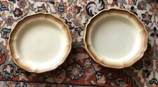 VINTAGE!! Mikasa Whole Wheat E-8000 Salad Plates 2 pcs.  Lot #2
