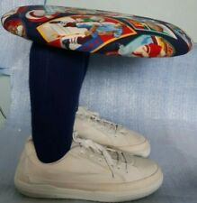kids stool two legs with shoes RARE