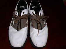 6658741a535 Nike Golf Shoes Brown White Saddle Style Men s Size 11 US 10 UK 45 EU NICE