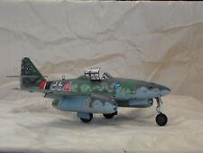 Built 1/32 scale Me-262a-1a World War II German Jet Fighter