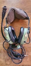 David Clark H10-13 S Airplane Pilot Aviation Headphone Headset W/ Dual Plug!!!!!
