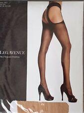Leg Avenue Straps Strumpfhose tan - nude - hautfarben