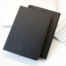 Leder Schutzhülle für Apple iPad Air 1 Tablet Tasche Cover Case Stand schwarz