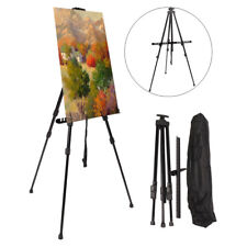 Art Tripod Painters Easel Stand - Adjustable Floor Easel Boards + Bag for Artist