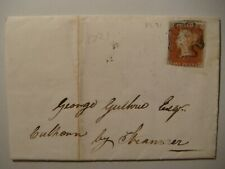 GB.QV.Scotland.Red penny #3.Maltese Cross.1843.Wigtown