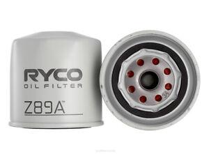 Ryco Oil Filter Z89A fits Nissan Navara 2.5 Di (D22), 2.5 Di 4x4 (D22), 2.5 D...