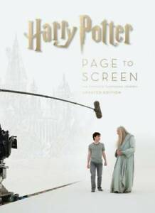 Harry Potter Page to Screen: Updated Edition: The Complete Filmmaking  - GOOD
