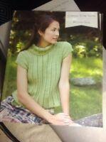 CEY Classic Elite Yarns Knitting Pattern Book Wooded Glen Lightweight Sweaters