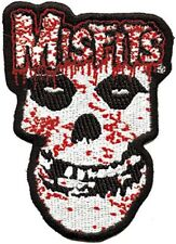 Misfits - Bloody Skull Logo - Embroidered Patch - Brand New - Music Band 1749