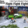 Race Medal 1:64 Scale Figures Diorama Outdoor Fighting Baseball Bat 1/64