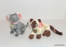 New TY Beanie Babies Garfield the Movie Plush Lot Set Nermal Arlene Cats P30