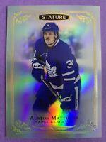 2019-20 Upper Deck Stature Base #1 Auston Matthews Toronto Maple Leafs