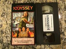 THE ODYSSEY RARE OOP PROMO SCREENER VHS! 1997 HALLMARK ARMAND ASSANTE FANTASY!