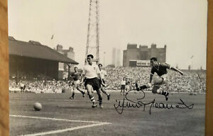 Jimmy Greaves England & Chelsea Hand Signed 16x12 PROOF. Seem Him Sign.