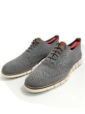 🔥COLE HAAN ZEROGRAND Wingtip Oxford Stitchlite Ironstone Men's Shoes size 12 M