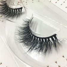 Thick 100% Real 3D Mink Fur False Eyelshes Mutilayers Eye Lashes Extension