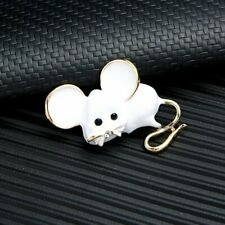 Charm Rat Zodiac Mouse Lovely Enamel Brooch Pin Women Fashion Jewelry Gifts