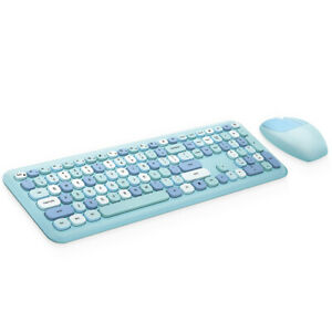 Mofii 666 Keyboard Mouse Combo  2.4G Mixed Color 110  Keyboard W5M5