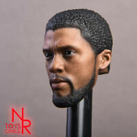 NRTOYS Black Panther 2.0 1/6th Head Sculpt Carved Solider Figure Toys Collection