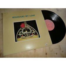 XARHAKOS / VAMVAKARIS / TSITSANIS & bouzouki my love - GREEK FOLK MINERVA Lp 77