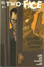 Two-Face: Year One #1-2  (VF/NM First Prints) (Complete Limited Series)