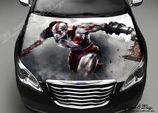 Warrior Full Color Graphics Adhesive Vinyl Sticker Fit any Car Hood Bonnet #090