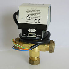 Drayton Flowshare 2 22mm Mid position Actuator Diverter Valve : 6302