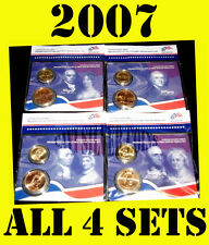 2007 US MINT PRESIDENTIAL $1 COIN FIRST SPOUSE LADY BRONZE MEDAL SETS ALL 4 SETS