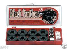 Black Panthers ABEC 7 Speed Smooth Skateboard Bearings