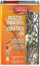 ANTIROUILLE INCOLORE 1L RUSTOL OWATROL direct rouille
