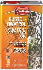 ANTIROUILLE INCOLORE 1L RUSTOL OWATROL direct rouille
