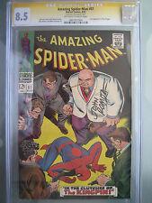 Amazing Spider-Man #51 CGC 8.5 SS **Signed John Romita** 2nd Kingpin