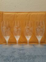 Vintage Avon Hummingbird Wine Glasses (Set Of 4)