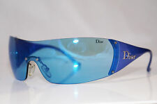 DIOR Womens Designer Sunglasses Blue Shield GOLF WQ9 120,with case, strap & wipe