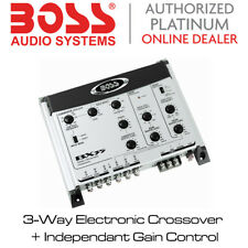 Boss Audio BX35 - 3-Way Electronic Crossover + Independent Gain Controls