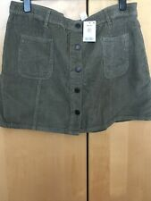 New With Tags Next Cord Like Skirt Size 20