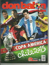 MAGAZINE DON BALON COPA AMERICA CHILE 2015