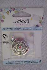 Jolee's Jewel Swarovski Elements Magnetic Pendant Kit Interchangeable New