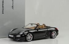 2012 Porsche Boxster S 981 BLACK BASALTO NERO METALLIZZATO 1:18 Minichamps WAP