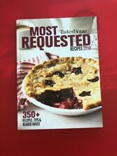 Most Requested Recipes 2018 by Taste of Home Hardcover 2018 New