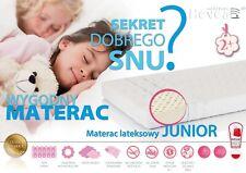 HIT! MATERAC LATEKSOWY DLA DZIECI HEVEA JUNIOR 90x200