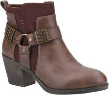 Rocket Dog Womens Setty Ankle Boot Brown/Brown